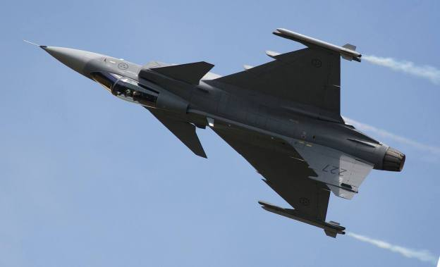 JAS 39 Gripen. (Foto: Fredrik Edvardsen)