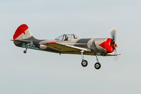 Yak-50. (Foto: Eirik Østensjø)