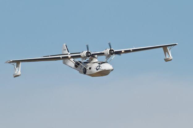 """PBY-5A Catalina """"Miss Pickup. Foto: Eirik Østensjø"""