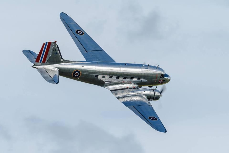 DC-3 Dakota. Foto Eirik Østensjø